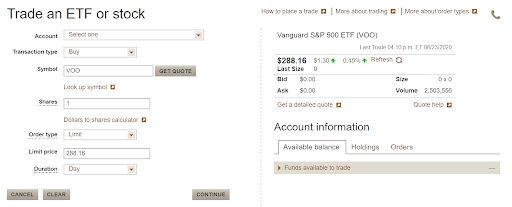 Invest in an S&P 500 Index Fund Page